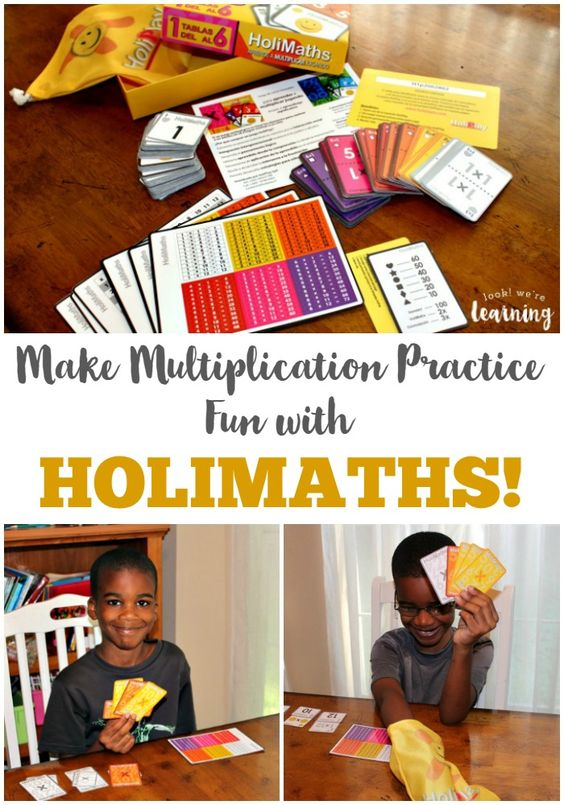 Does your child hate practicing times tables? Try HoliMaths - a fun multiplication game for kids! See how it works! #spon