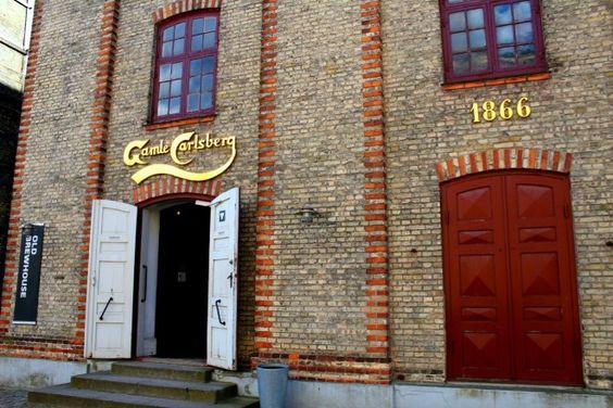 Beer tour at Carlsberg (?)