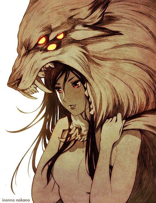 The Prey and the Hunter by Inanna Nakano / http://inanna-nakano.deviantart.com/