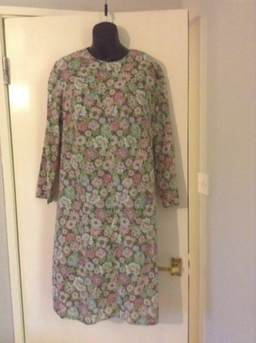 #Vintage floral #shift #dress size 16,  View more on the LINK: http://www.zeppy.io/product/gb/2/201494113454/
