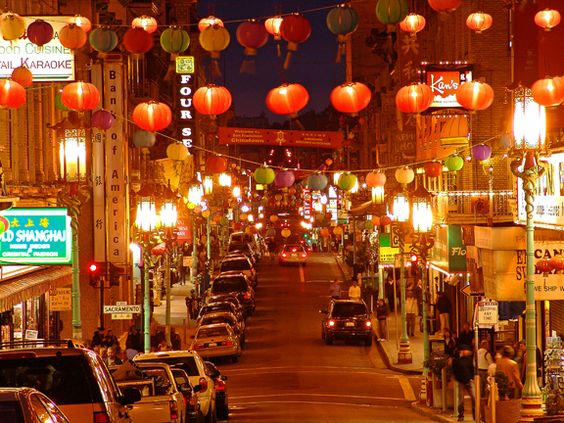China Town in San Francisco