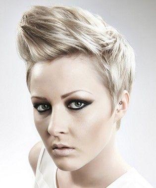 Awe Inspiring Short Blonde Woman Haircut And Hairstyles On Pinterest Short Hairstyles Gunalazisus