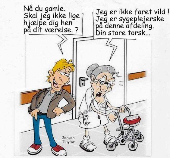 Hjaelpe Besog Visdom Dk Som Er Danmarks Storste Humor Side Sjov Humor Sjove Vittigheder Sjove Billeder