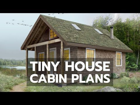 Build Your Own Beautiful 16 X 25 Cabin Hide Away Full Cabin Plans And Instruction Package Complete With Drawings Photos Cabin Plans Small Cabin Plans Cabin
