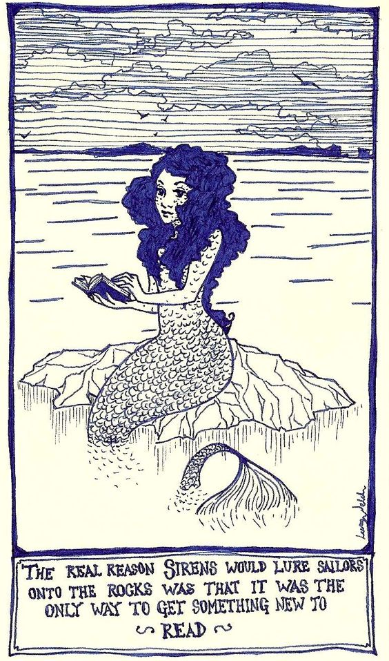 Mermaids & Books - Siren: