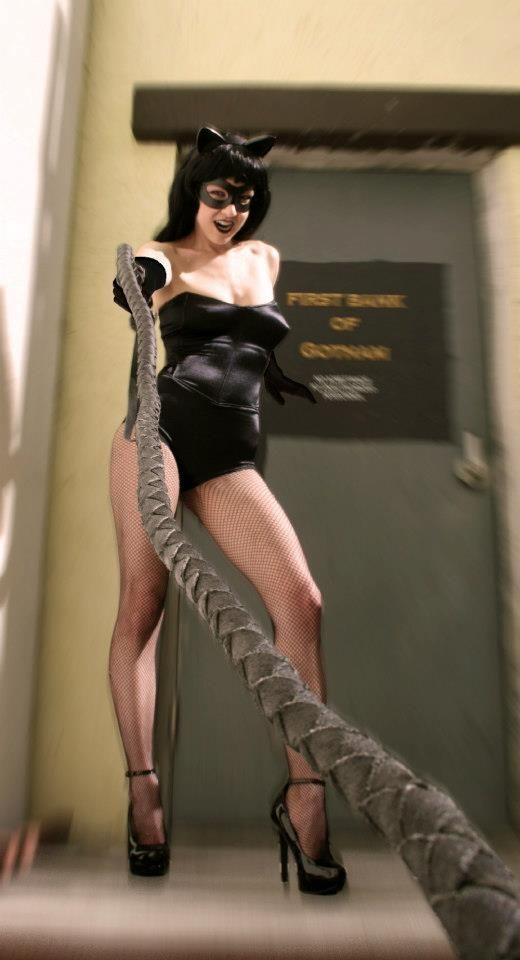 Denis Medri: 50's Catwoman (50's Rockabilly Batman) LadyLomax.
