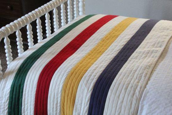 Hudson Bay Point Blanket Quilt