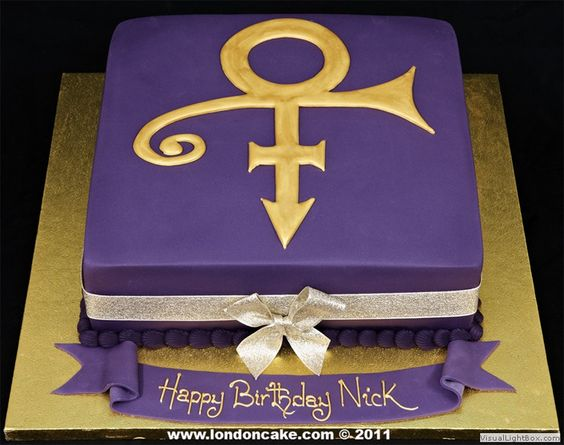 Prince The Singer Cake Topper