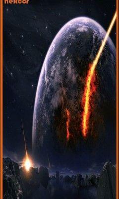 Fondo fire planeta hc para celular