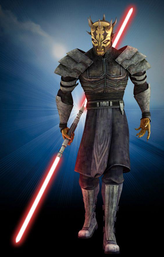 star war 3d character