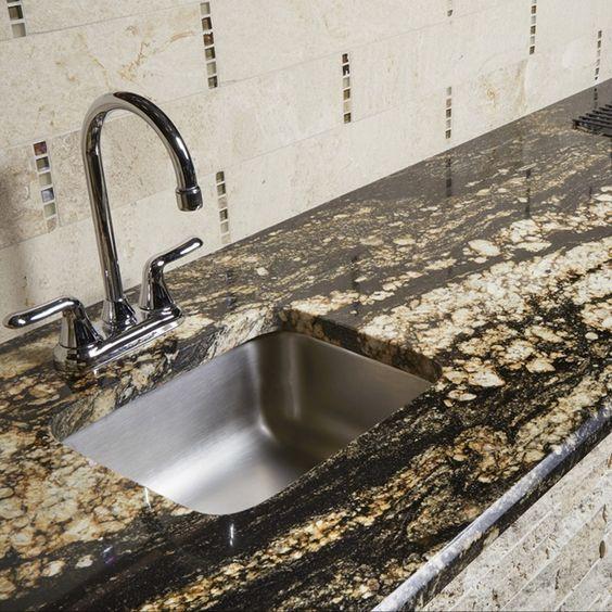 Supreme Gold Natural Stone Granite Slab | Arizona Tile