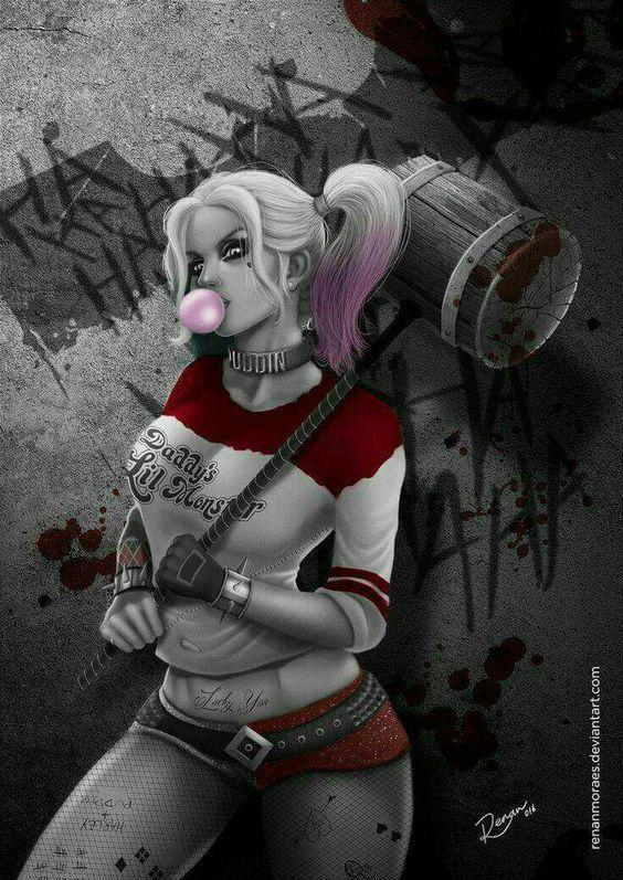 Harley Quinn Concept Art
