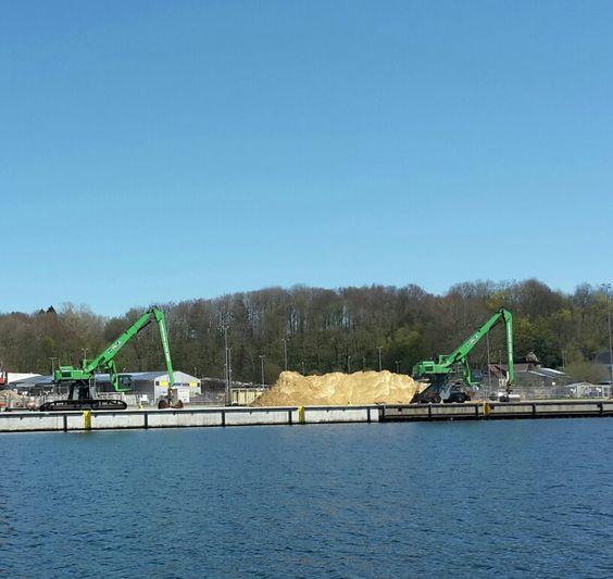 Industri - Flensburger Hafen i Flensburg, Schleswig-Holstein