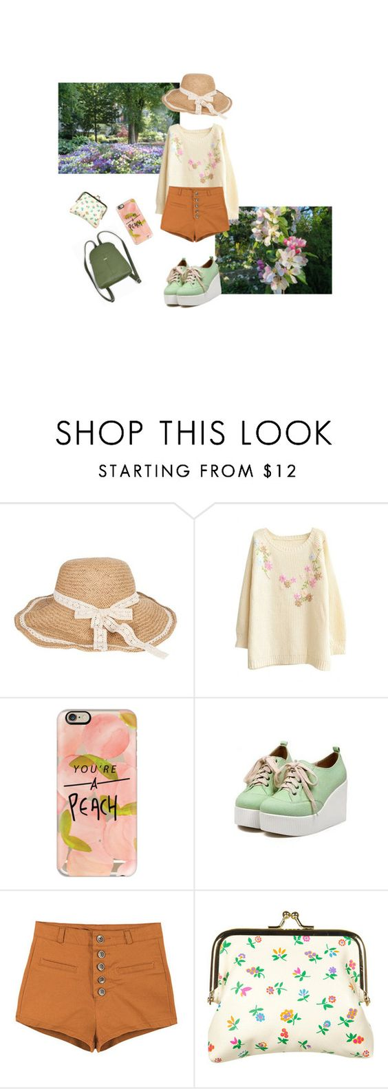 """""""flower boy"""" by myunghan ❤ liked on Polyvore featuring Casetify and Off-White"""