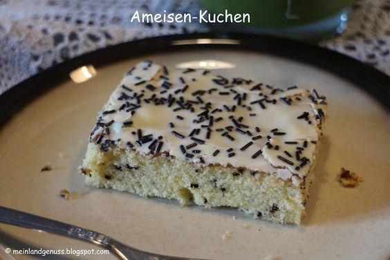mein Land und Gartengenuss: Eierlikör-Blechkuchen