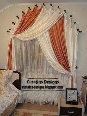 arched windows curtain designs ideas for bedroomwindow - Drapery Design Ideas