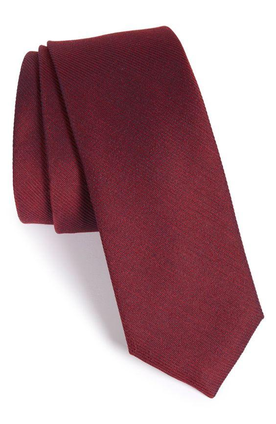 Calibrate Textured Silk & Cotton Tie