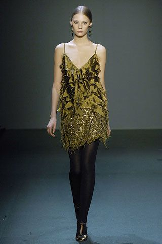 Andrew Gn Fall 2007 Ready-to-Wear Fashion Show - Johanna Jonsson (Elite)