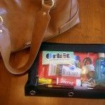 Organize your purse and move the essentials quickly when you switch bags