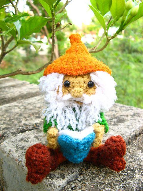 Amigurumi Hello Kitty Free Pattern : Amigurumi gnome and flower fairy -Crochet pattern PDF ...