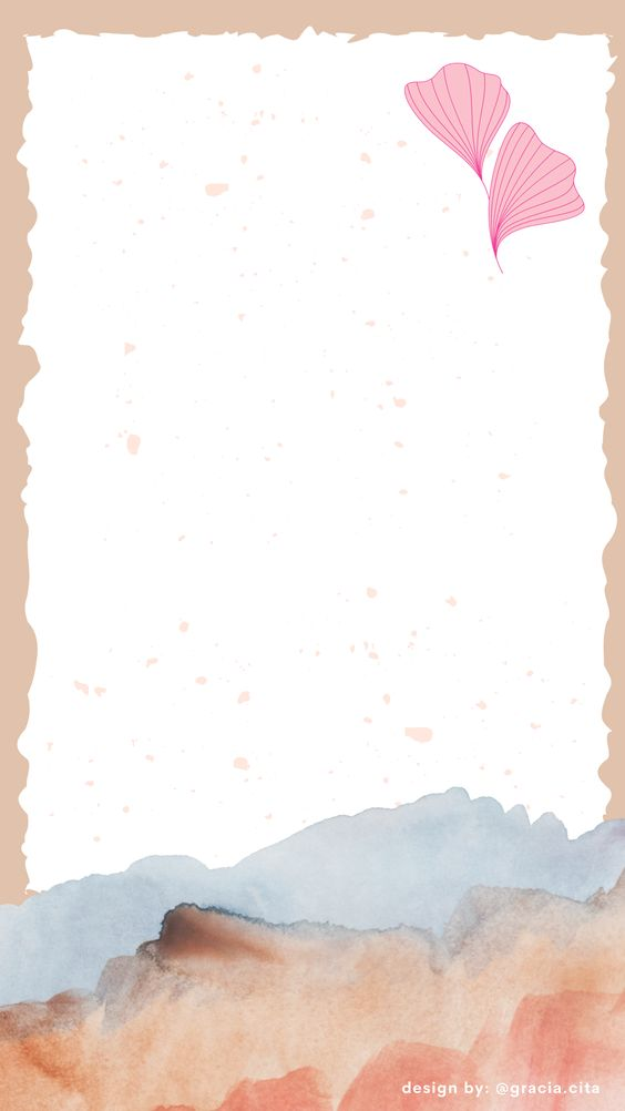 Free Insta Story Background - Rustic Theme - Pink Petals