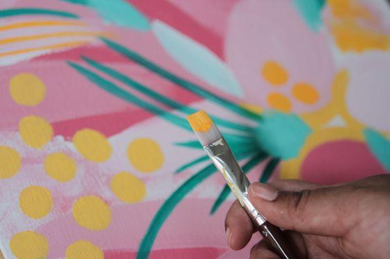 Abstract Artist, Cynthia Juhailey Modourn Color | SOYVIRGO.COM