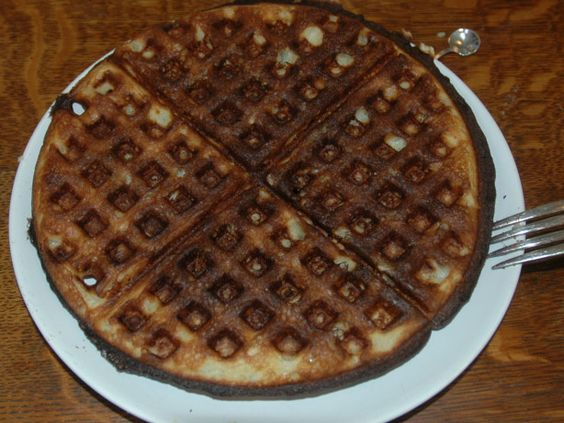 My sister gave me a cookbook back in the 60s that had this marvelous waffle recipe in it by Jackie Kennedy. Truly it is fit for our White House. I copied the recipe over many times, and like to use it for company or leisurely weekend mornings.  One of the marvelous things about this recipe, is that the waffles freeze well. I bought a new Waffle iron, and the waffles fit into a (wide opening) toaster. I plan to make these for Christmas morning, and have it become a tradition.