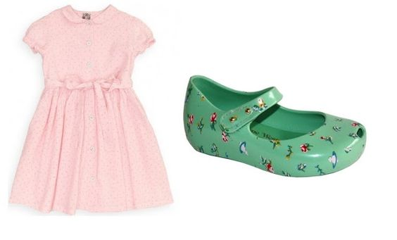 Purple Doughnuts: Celebrity Kids Inspired Fashion: Harper Beckham