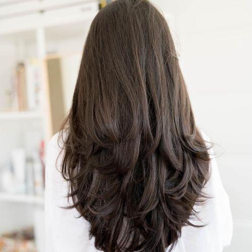 50 Gorgeous Layered Haircuts For Long Hair Hair Motive Hair Motive Haircuts Straight Hair Long Hair Styles Haircuts For Long Hair With Layers