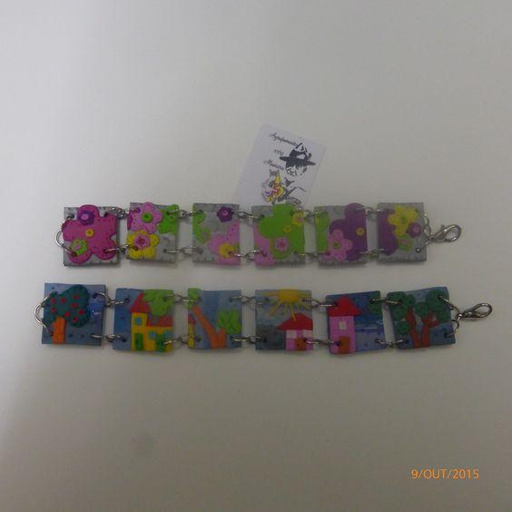Bonecas do 1069, pulseiras em fimo