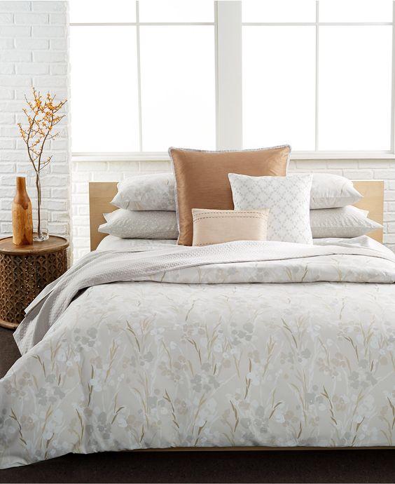 Calvin Klein Blanca King Comforter Set Bed Amp Bath
