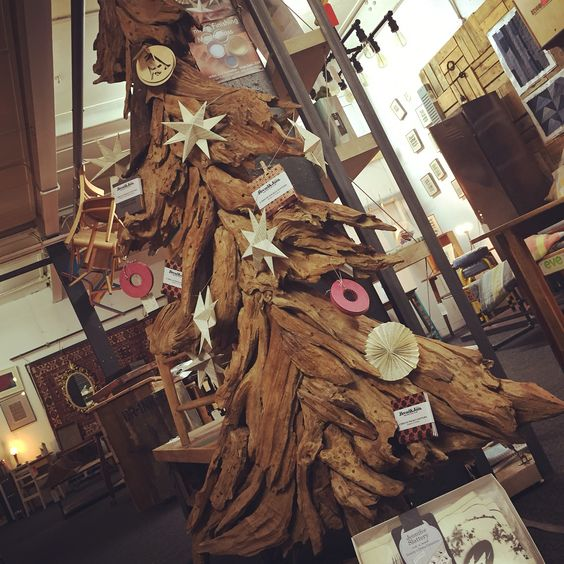 Upcycled wooden Christmas tree £250