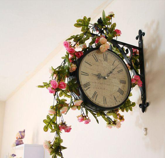 20% Decoración de la boda OFF Nuevo 2015 Artificial Rose Seda falsa vid de la flor que cuelga de la guirnalda de la boda Decoración para Navidad a2
