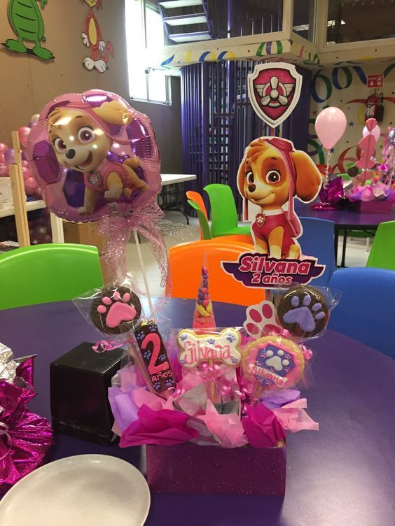 Centro De Mesa Baby Shower In 2019 Paw Patrol Birthday