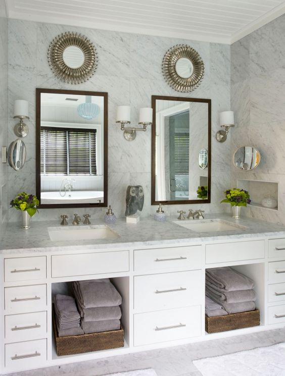 Nooks Towel Storage And Vanities On Pinterest