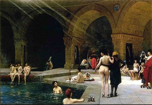 Gerome, Jean Leon (1824-1904) - The Baths in Bursa