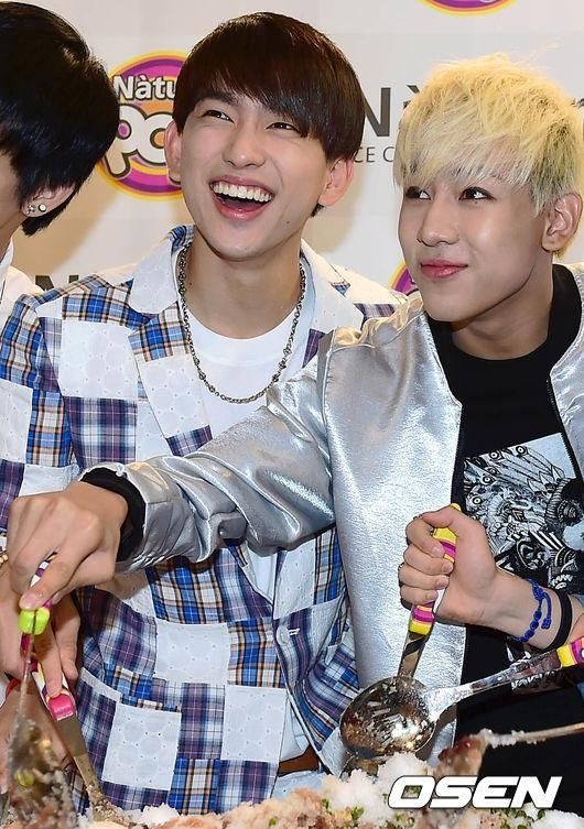 Bam Bam and Jr.- Got7 Natuur Pop Fansigning Event / Hubbies