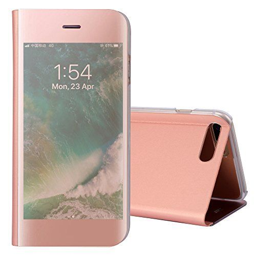 Bestes Angebot Iphone 7 Plus Hulle Handy Hulle Iphone 8 Plus Stossfest Kickstand Stand Slim Spiegel Clear View Schutzhulle Handyh Iphone Iphone 7 Plus Iphone 7