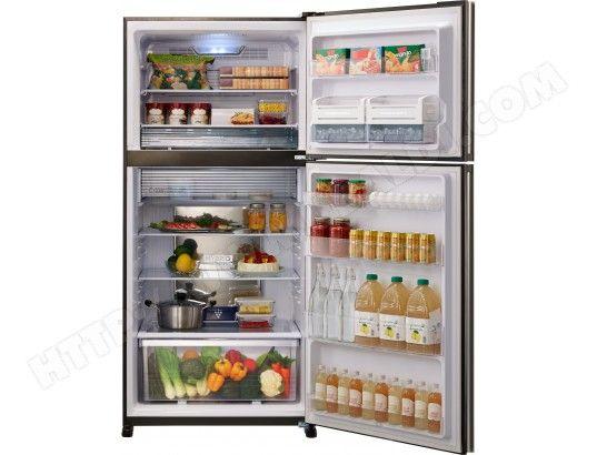 Livraison Gratuite De Votre Refrigerateur Congelateur Haut Sharp Sjxg740gbk Pas Cher Volume Total 600 Lit Refrigerateur Congelateur Congelation Refrigerateur