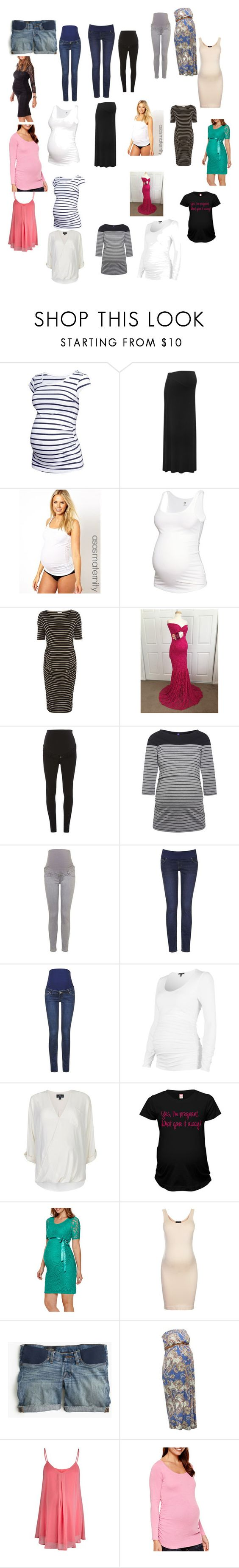 """""""Untitled #322"""" by peigestyles ❤ liked on Polyvore featuring H&M, M&Co, Emma Jane, Dorothy Perkins, Topshop, J.Crew, Rock-a-Bye Rosie and Isabella Oliver"""