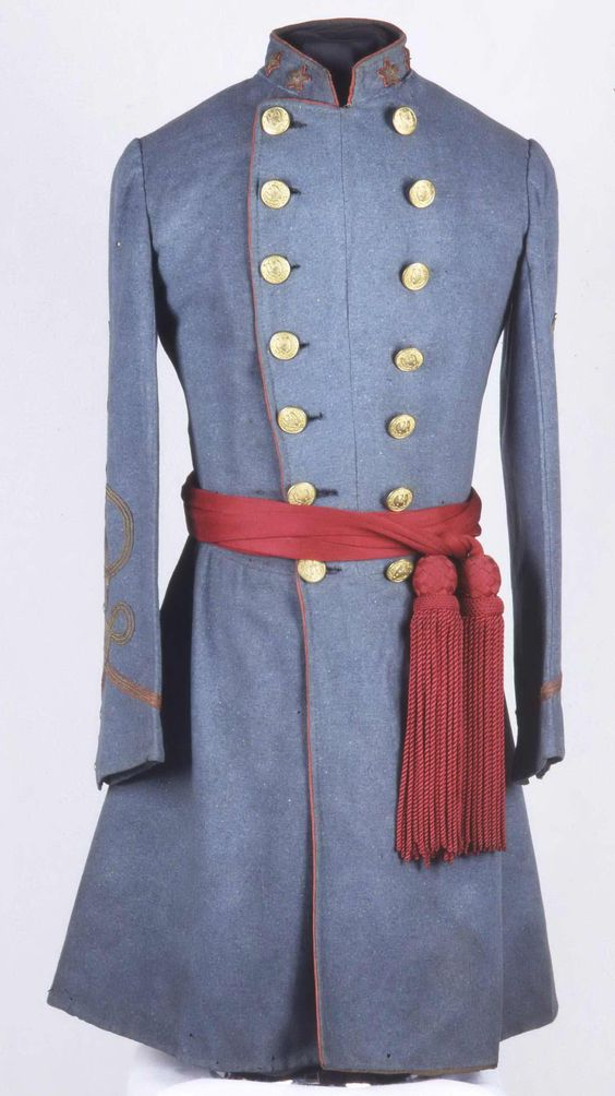 Frock Coat belonging to William Miller Owen from the Washington Artillery site. Confederate Memorial Museum, New Orleans