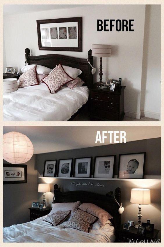 Popular Small Master Bedroom Makeover Ideas 07 #homeMakeover