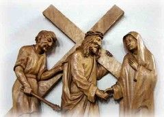 Mit den Schwestern den Kreuzweg beten - http://www.kirche-geht-mit-menschen.de/kirche-in-kassel/liturgie-und-gebet/kreuzweg/