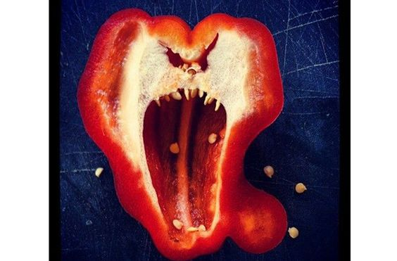 Evil pepper - Weird-shaped fruit and vegetables - goodtoknow