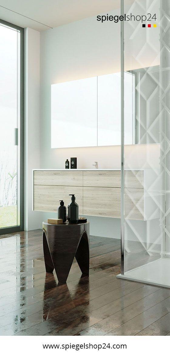 Spiegelschrank Beleuchtet Nach Mass Kaufen Spiegelschrank Wandspiegel Badspiegelschrank