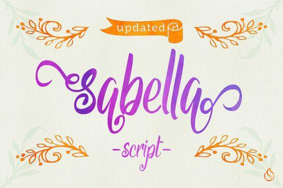 Sabella by JROH Creative on @creativemarket