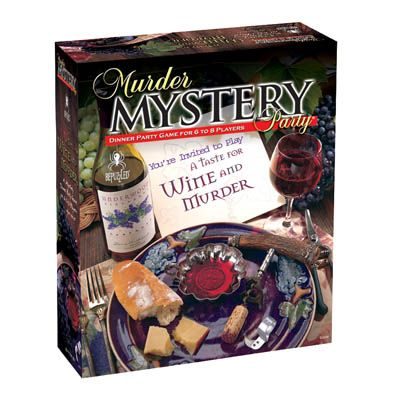 A Taste for Wine and Murder (Murder Mystery Party)