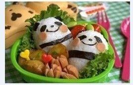 Lovely panda cakes