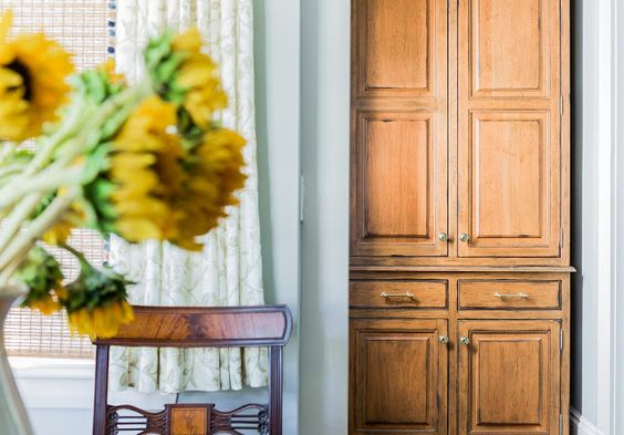 дневник дизайнера: Уникальный дизайн синей кухни от Кэти Маршалл