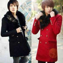 Muški kaputi sa krznom na reveru muška garderoba online prodaja